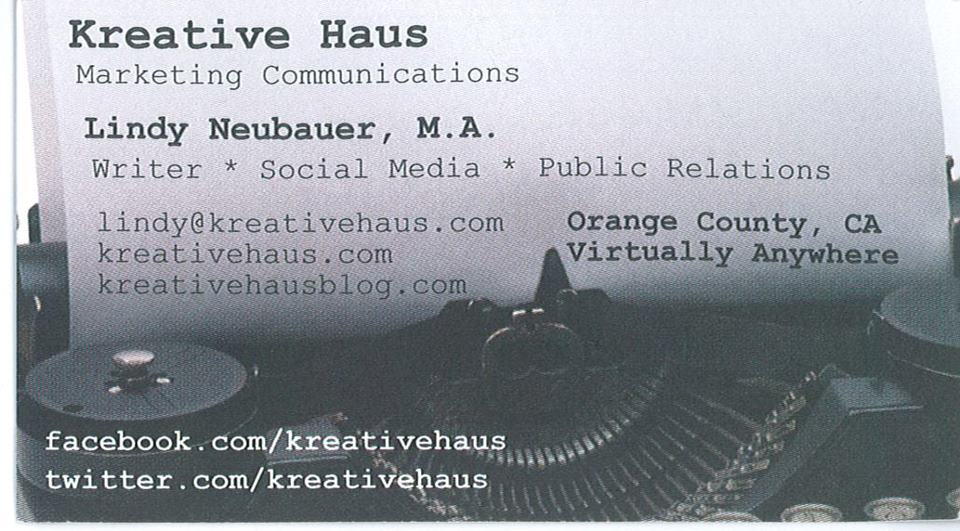 Kreative Haus Biz Card
