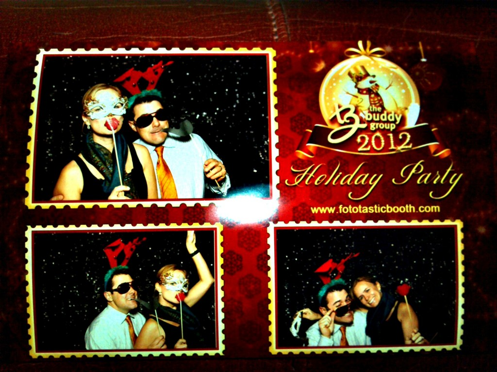 Rule #1 of Photo Booths: Masquerade's are Creepy.