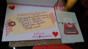 Homemade Valentine Card Swap | The Stationery Place