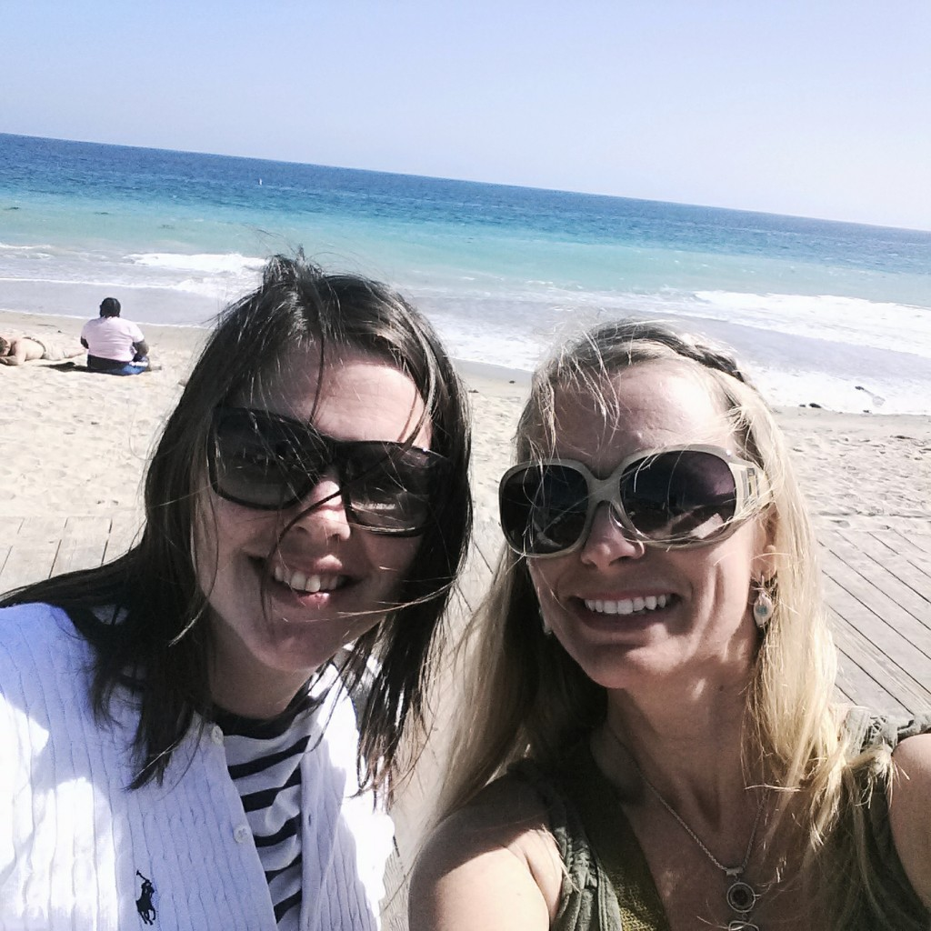 Ingrid and Lindy in Laguna Beach, CA