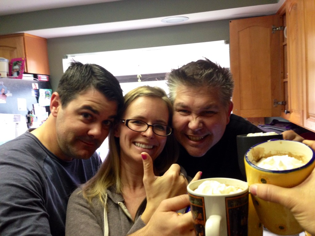 Podcast Party with Justin, Tammy and Mexican Coffee